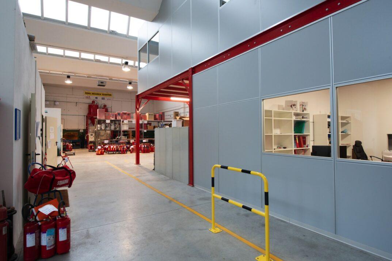 Contract ufficio per SMA Antincendio
